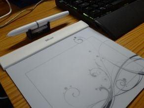 Graphics Tablet holder for max. 14.5 mm diameter Pen