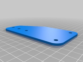 MakerSlide End Plate for Xcarve