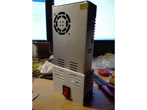 Anet A8 30A PSU cover and frame mount