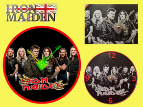 Reloj Iron Maiden