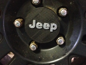Jeep Hub Cover