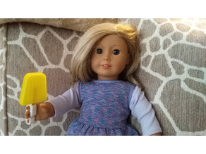 American Girl Doll Popsicle