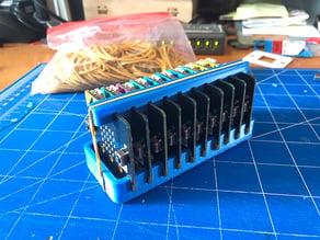 BBC micro:bit holder for 10 board