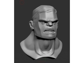 Hulk Bust Fanart