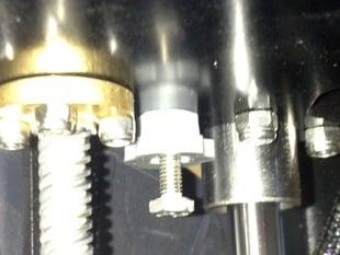 M2 z axis lock nut knob