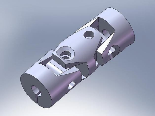 cnc 3d printer coupling universal joint by