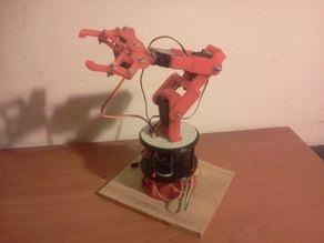3D Printed Std Servo Robot Arm Rotary Base