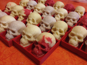 Chocolate Skull Mold Maker