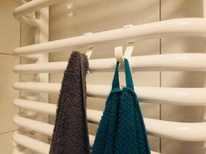 Bathroom Radiator Towel Hook