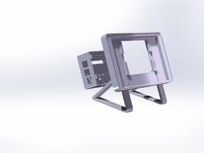 "Raspberry Pi 7"" touch screen enclosure (case)"