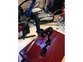 Laptop internal camera re-mount