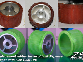 Replacement rubber