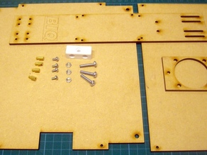 Prusa Mendel wooden printbed - Aachen edition