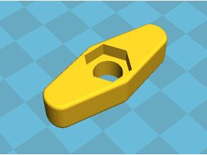 WINGBOLT FOR 1/4-20, 7/16 HEAD