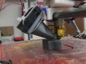Generic 40 mm fan duct