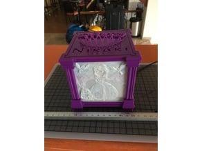 Princess Square Litho Box