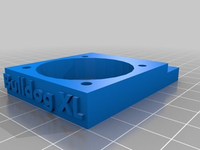 Adapter for Bulldog XL for Ultimaker