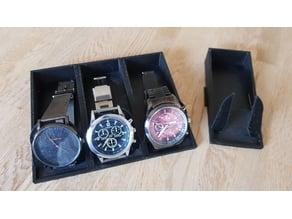 expandable watch stand, erweiterbarer Uhr-Ständer