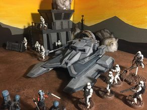 TX 130s Imperial Tank (Star Wars Legion scale)