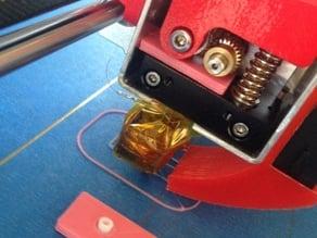 RepRap Prusa I3 Flexible Filament Mod