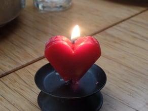 Candle heart mold V1