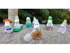 Moomins are waiting for the house