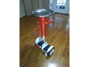 Segway Robotic Wine and Cheese Butler