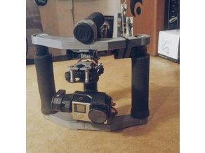 GoPro Rig on Gimbal Tarot T2-D2