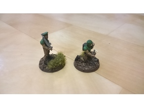 28mm soldiers special characters