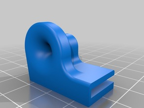 Ender 3/Pro Small Filament Guide