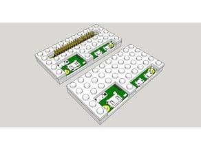 Construction Block Raspberry Pi Zero two piece
