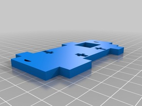 Anet A6 frame part left z axis