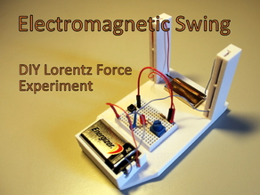Electromagnetic Swing - DIY Lorentz Force Experiment