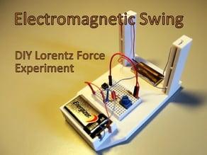Electromagnetic Swing - DIY Lorentz Force Experiment