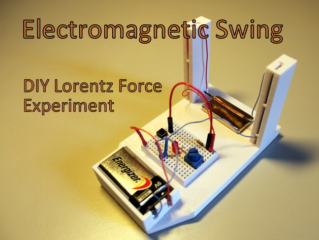 Electromagnetic Swing Diy Lorentz Force Experiment By