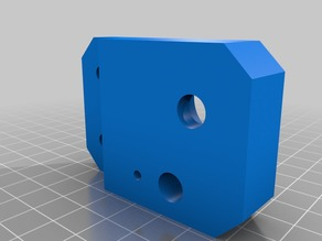 Lead screw guide Z axis (Hictop/Prusa i3 alum extrude)
