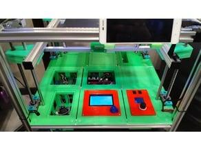 Printer Bottom (400x400mm) on Profile 2020