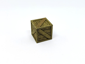 Wooden Crate for Gloomhaven