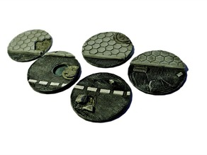 Wargaming bases: 60mm urban bases