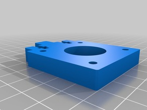 Y-Axis Stepper Mount - Geeetech Prusa I3 X