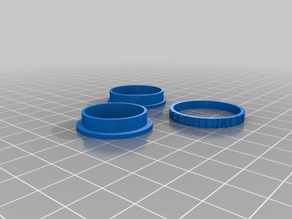 Alphabet Spinner test, 21mm, Small ring, normal font