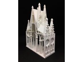 Interior structure of Sagrada Família Barcelona