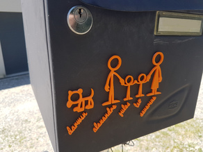 Mailbox/Letterbox decoration