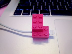 LEGO iPhone cable protector!