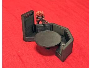 Bistro Media Table- 28mm Sci-fi Terrain