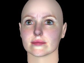 Women Android Face for latex Mask