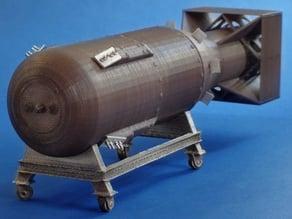 Atomic bomb multi-piece miniature