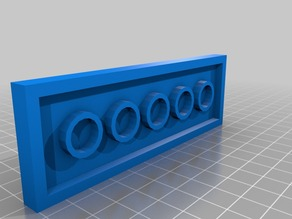 lego plate 2X6