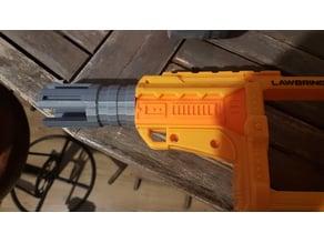 Nerf Lawbringer canon