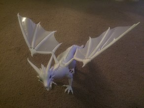 Articulated Serpent Wing Skins